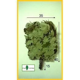 Веник дубовый кавказский отборный с эвкалиптом 2020 года в упаковке, от 1 до 10 и более штук, цена от 265 до 240 рублей