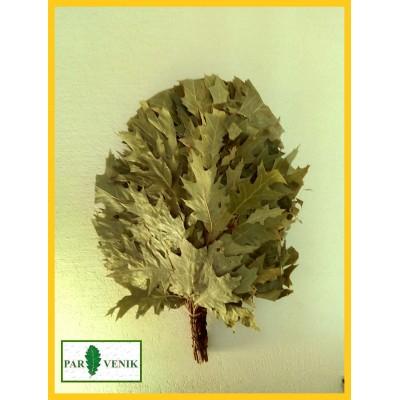 Веник из красного (канадского) дуба, в упаковке, 2019 года