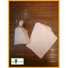 Холщовые мешочки для запаривания трав 10 штук