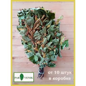 Банный веник липовый стандартный , без упаковки, в коробке от 10 до 20 штук, от 140 до 135 рублей
