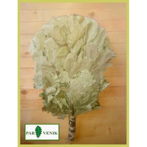 Веник дубовый  кавказский 1-й сорт (жестковат) , цена от 10  до 30 штук, без упаковки, в коробке,  2021 года, цена от 160 до 150 рублей
