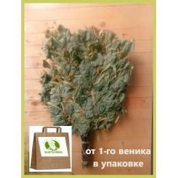 Банный липовый отборный веник 2020 года, в упаковке,  от 1 до 10 штук, цена от 180 до 160 рублей